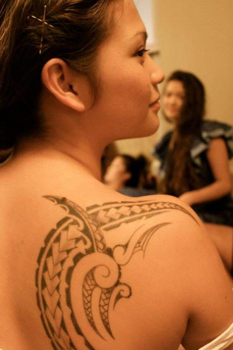 Samoan tattoo